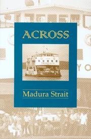 Cover of: Across Madura Strait