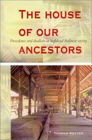 Cover of: The House of Our Ancestors | Thomas Reuter