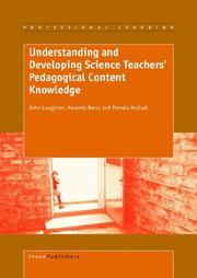Cover of: Understanding and Developing Science Teachers