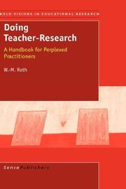 Cover of: Doing Teacher-Research