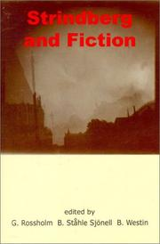 Cover of: Strindberg and Fiction |
