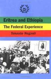 Cover of: Eritrea and Ethiopia