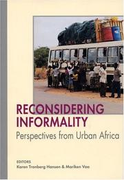 Cover of: Reconsidering informality |