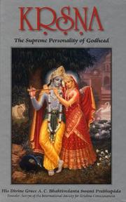 Cover of: Krsna (Volume One)