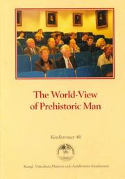 Cover of: The world-view of prehistoric man