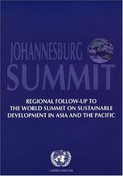 Cover of: Johannesburg Summit | United Nations.