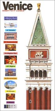 Cover of: Knopf City Guide | Knopf Guides