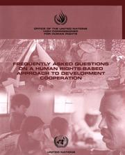 Frequently Asked Questions on a Human-rights Approach to Development Cooperation