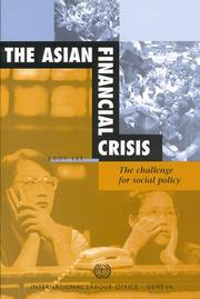 Cover of: The Asian financial crisis