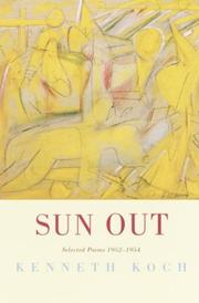 Cover of: Sun Out