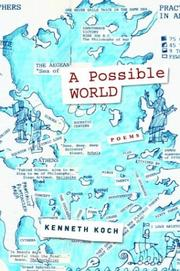 Cover of: A possible world