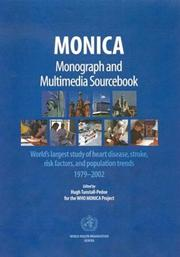 Cover of: MONICA, monograph, and multimedia sourcebook |