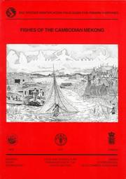 Cover of: Fishes of the Cambodian Mekong