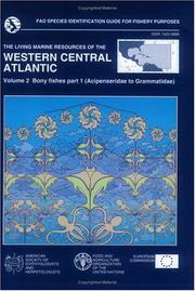 Cover of: The living marine resources of the Western Central Atlantic