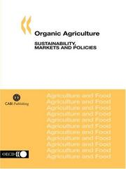 Cover of: Organic Agriculture | OECD. Published by : OECD Publishing