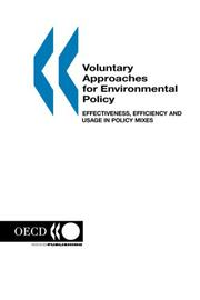 Cover of: Voluntary Approaches for Environmental Policy