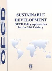 Cover of: Sustainable development |