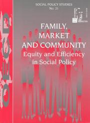 Cover of: Family, market and community |