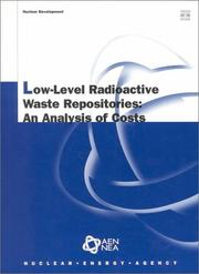 Cover of: Low-level radioactive waste repositories |