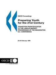 Cover of: Preparing youth for the 21st century |