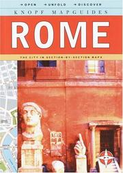 Cover of: Knopf Mapguides Rome