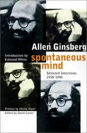 Cover of: Spontaneous mind | Allen Ginsberg
