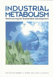 Cover of: Industrial Metabolism
