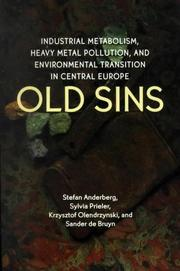 Cover of: Old sins