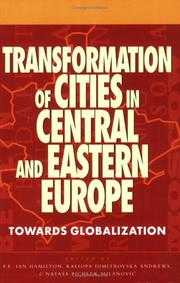 Cover of: Transformation of cities in Central and Eastern Europe |