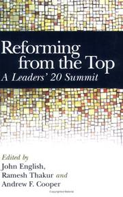 Cover of: Reforming from the Top |