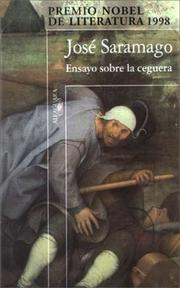 Cover of: Ensayo Sobre La Ceguera