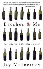 Cover of: Bacchus and Me | Jay McInerney