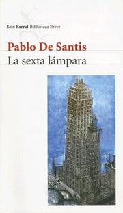 Cover of: La sexta lámpara