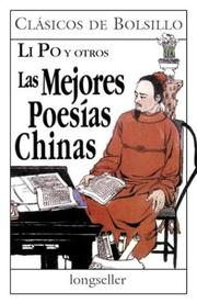 Cover of: Las Mejores Poesias Chinas / The Best Chinese Poems