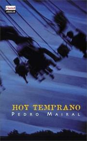 Cover of: Hoy temprano