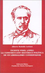 Cover of: Vicente Fidel López