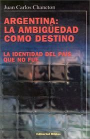 Cover of: Argentina