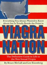 Cover of: Viagra nation