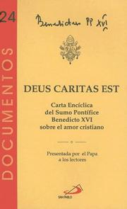 Cover of: Deus Caritas Est: Dios Es Amor (Documentos)