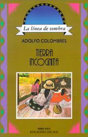 Cover of: Tierra incognita