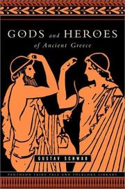 Cover of: Gods and heroes of Ancient Greece