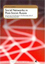 Cover of: Social networks in post-Soviet Russia