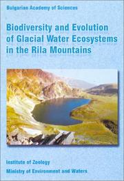 Cover of: Biodiversity and evolution of glacial water ecosystems in the Rila Mountains