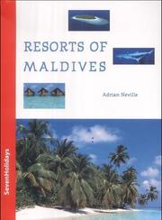 Cover of: Resorts of Maldives