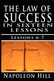 Cover of: The Law of Success, Volume VI & VII