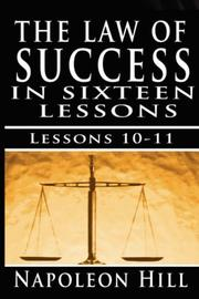Cover of: The Law of Success, Volume X & XI