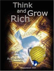 Cover of: Think and Grow Rich - Book and AudioBook (for Download)
