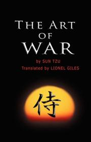 Cover of: The Art of War by Sun Tzu