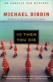 Cover of: And Then You Die | Michael Dibdin