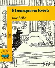 Cover of: El Oso Que No Lo Era/the Bear That Wasn't
